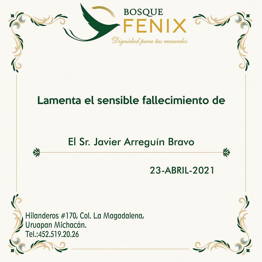 El Sr. Javier Arreguín Bravo