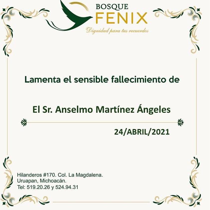 El Sr. Anselmo Martínez Ángeles