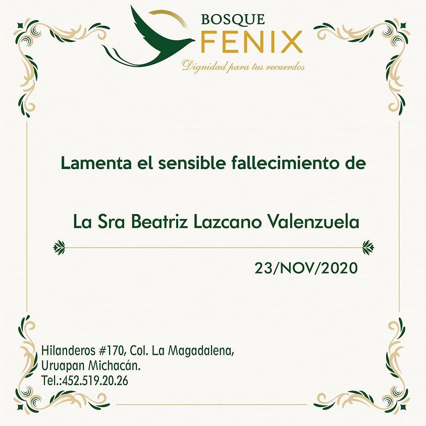 La Sra. Beatriz Lazcano Valenzuela