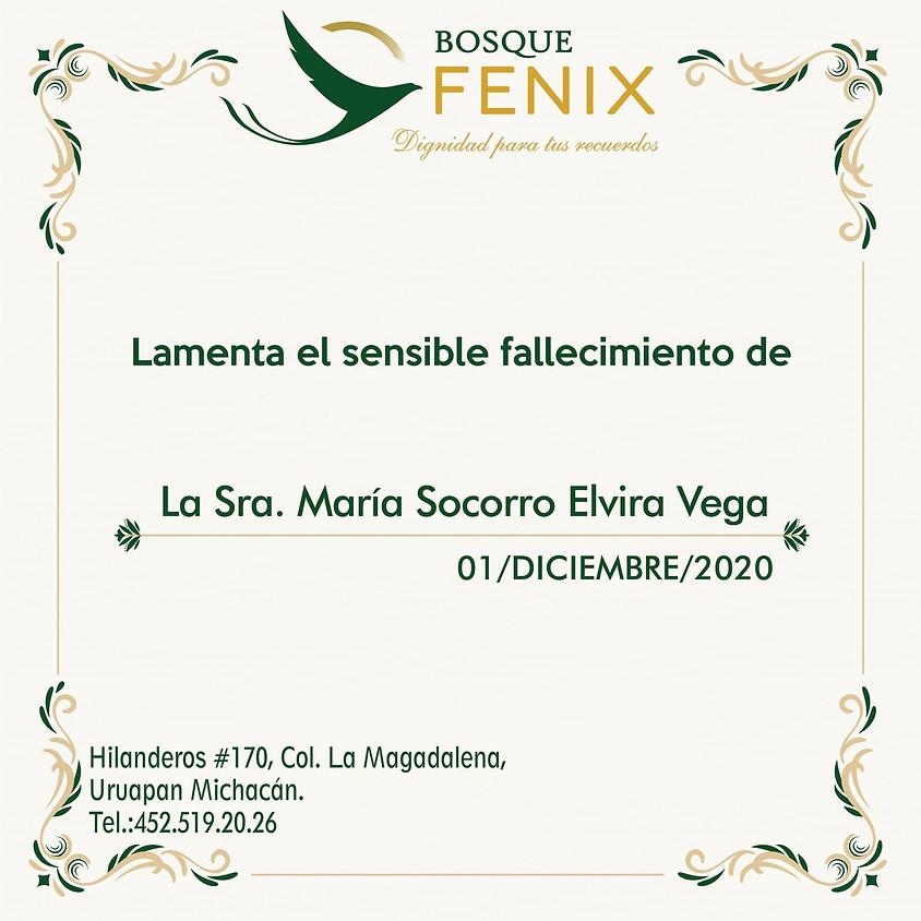 La Sra. María Socorro Elvira Vega