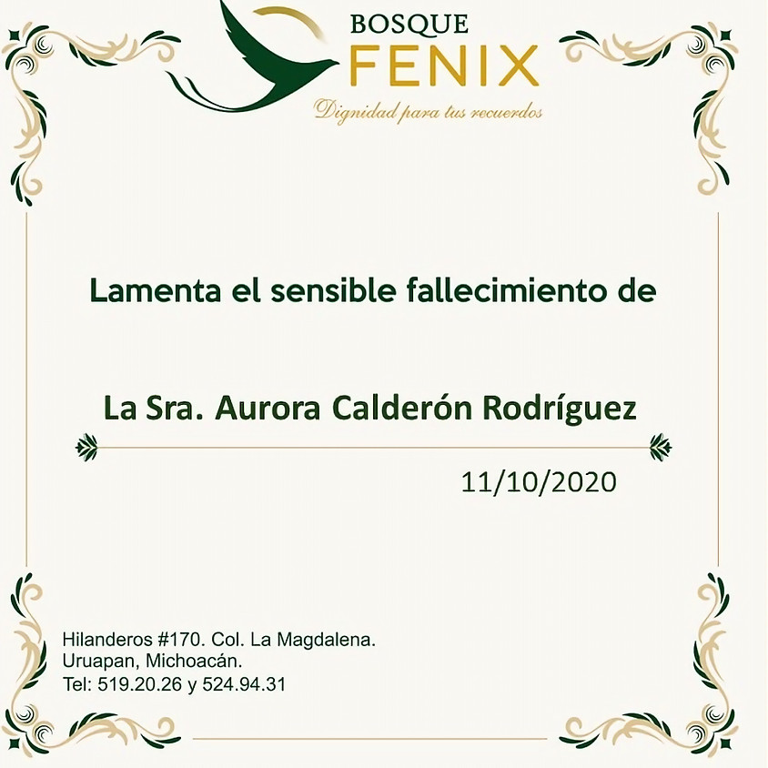Aurora Calderón Rodríguez