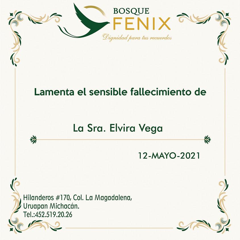 La Sra. Elvira Vega