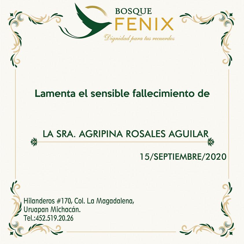 Agripina Rosales Aguilar