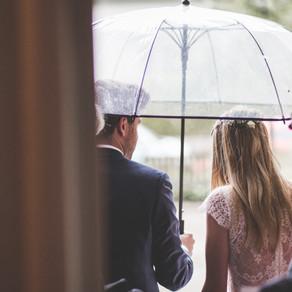 Schlechtes Hochzeitswetter? Gibt es nicht!