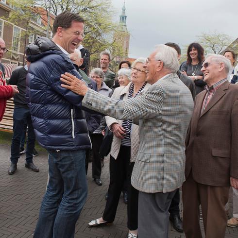 Arie 90 jaar:'proficiat'!