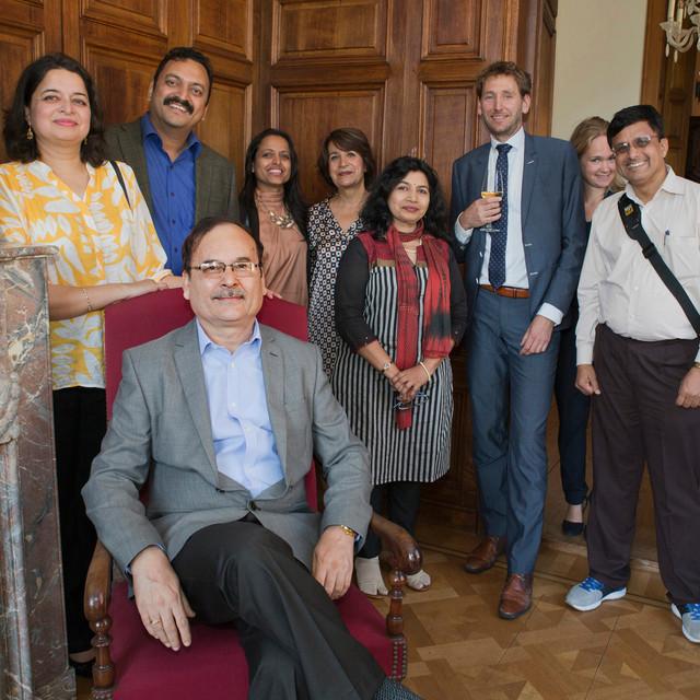 Bezoek Indiase Delegatie