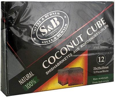Уголь для кальяна SB COCONUT CUBE 25 мм