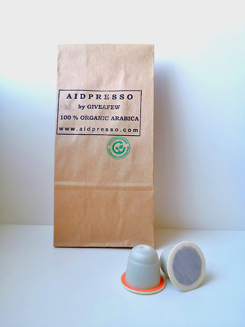 AIDPRESSO RORAIMA Kávékapszula (10 db)