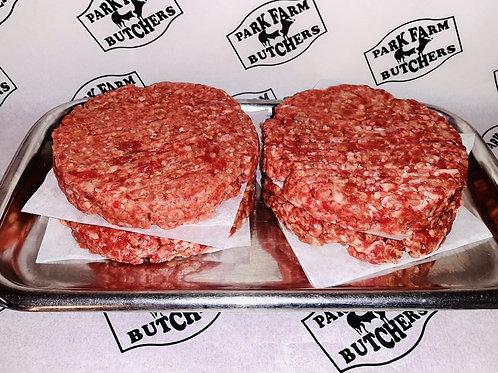 8oz Brisket & Chorizo Burger