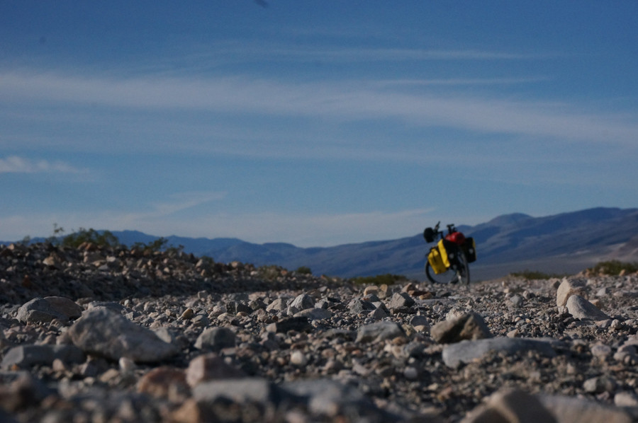 Death Valley Gravel Road with Haibike SDuro