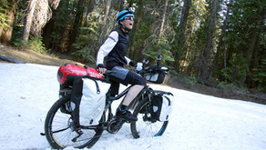 Stuck in Snow but Not with our Electric Bicycles