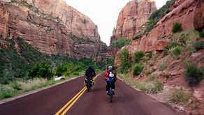 Approaching Zion via Interstate - Fear Followed by Serenity and a Rattlesnake
