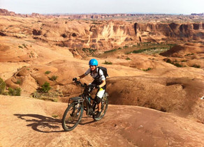 Moab's Slick Rock Trail on Haibikes is a Blast