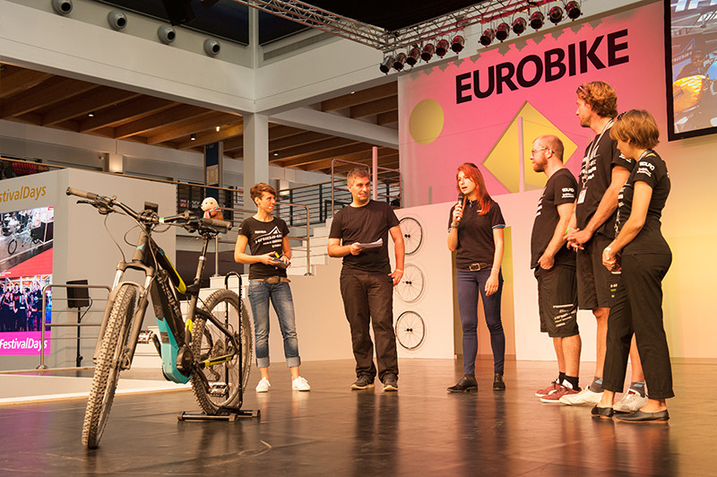 Sand to Snow presentation at Eurobike (LR)
