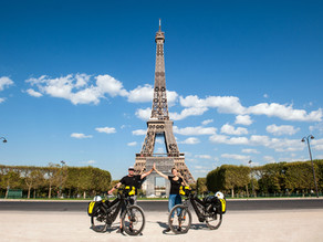 New Adventure E-Traction – The Trip Started in Paris