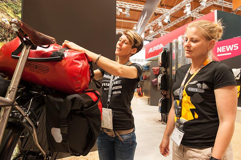Eurobike 2016, Ortlieb waterproof, Susanne Bruesch, Beratung, E-Bike Reise