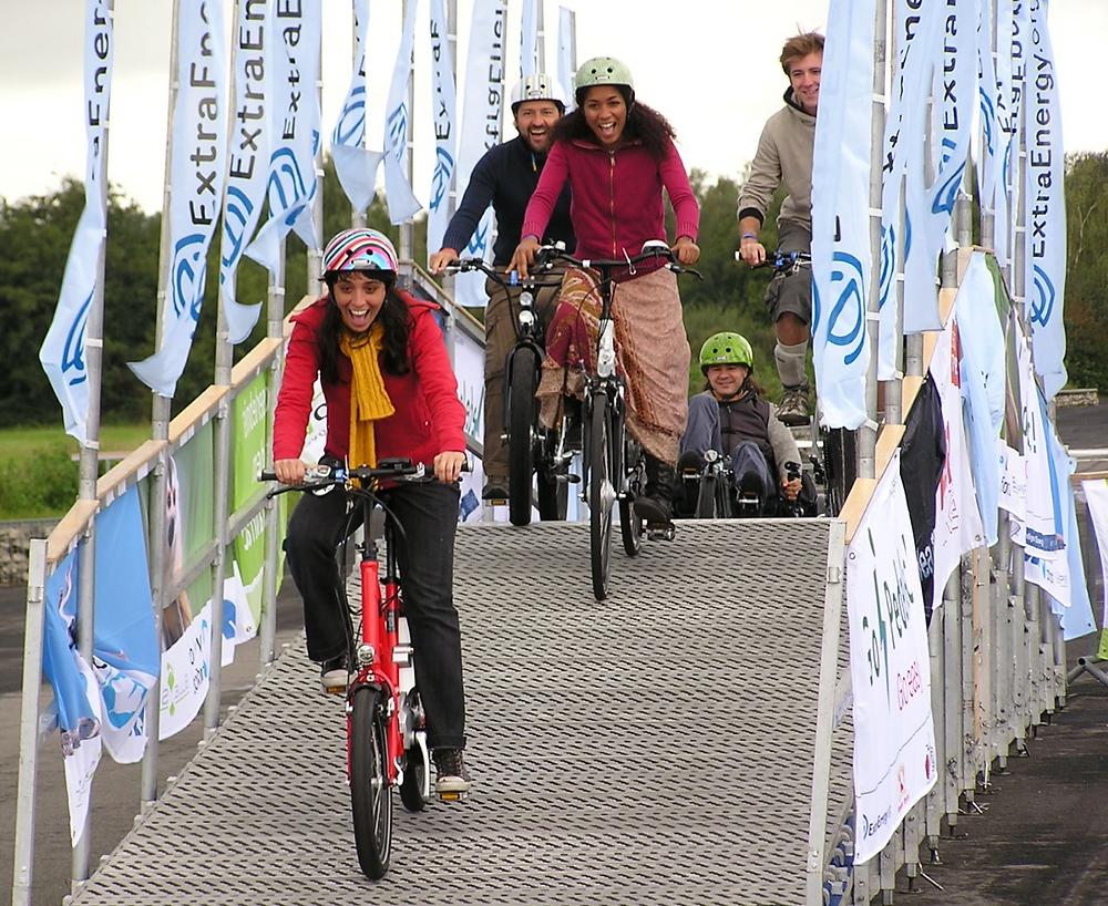 ExtraEnergy Testparcours, E-Bikes, Pedelecs, Susanne Bruesch