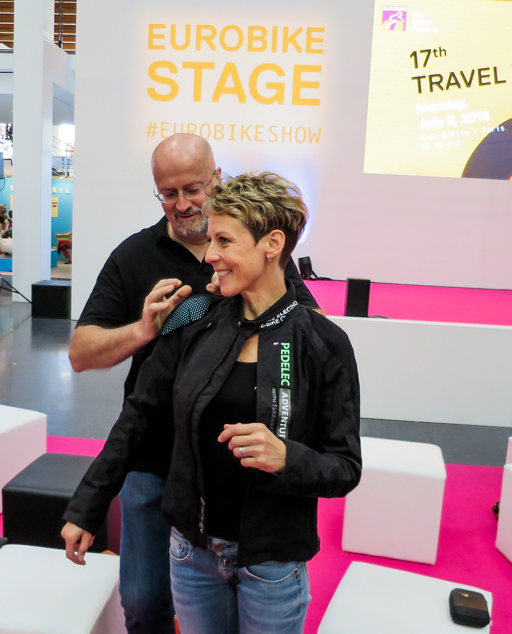 e-bike clothing, Pure Electric, Eurobike Show, Susanne Bruesch, Pedelec Adventures