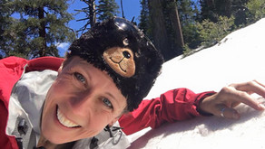 Snow Mission Accomplished when Hiking instead of Biking in Yosemite