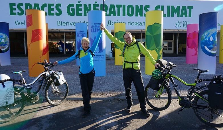 E-Bike Africa team at COP21 in Paris