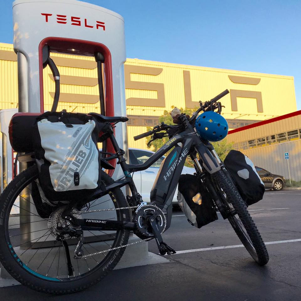 Haibike meets Tesla Motors