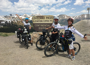 Crossing the Continental Divide on S-Pedelecs is a First