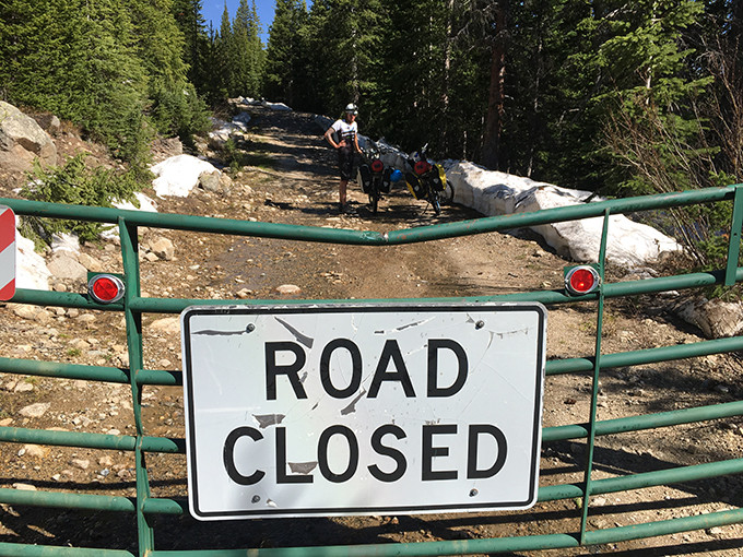 Haggerman Pass closed but not to e-bikes