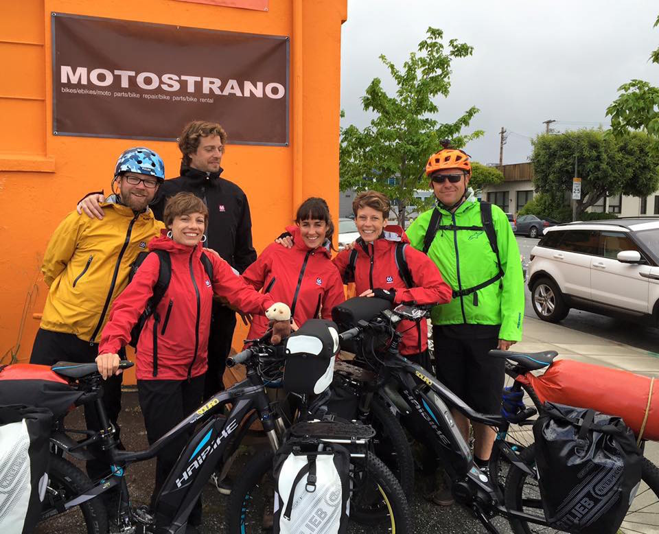 Riding to Silicon Valley in the rain