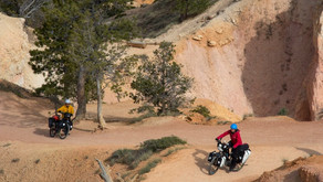 Cruising In and Round and Round Bryce Canyon on E-Bikes