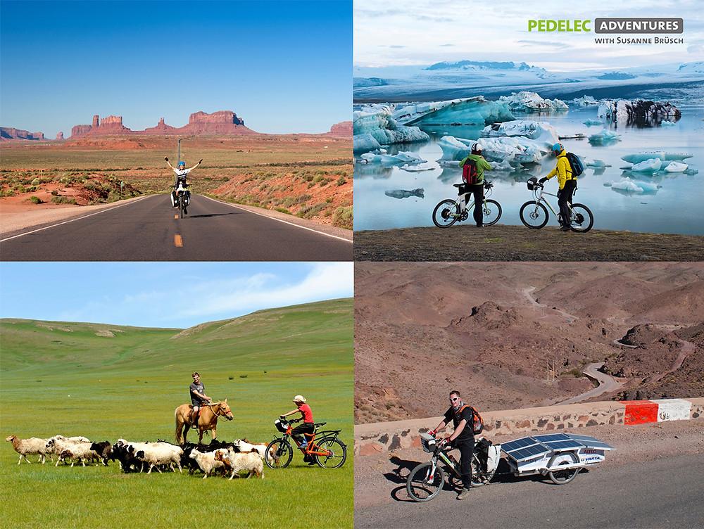 Pedelec Adventures, E-Bike Tours, Susanne Bruesch, USA, Morocco, Iceland, Mongolia