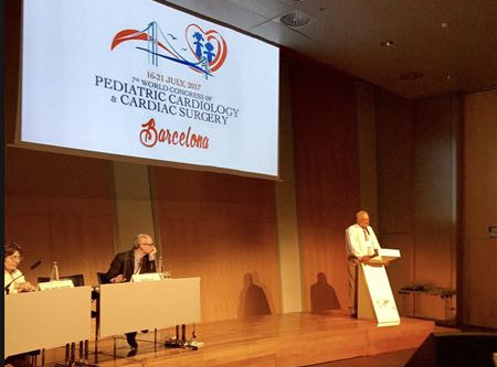 Seventh World Congress of Pediatric Cardiology and Cardiac Surgery in Barcelona