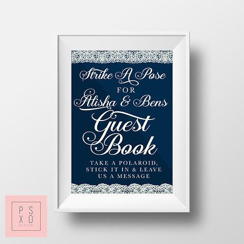 Strike A Pose - Guestbook Print