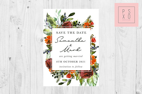 Nicola Autumn Save The Date