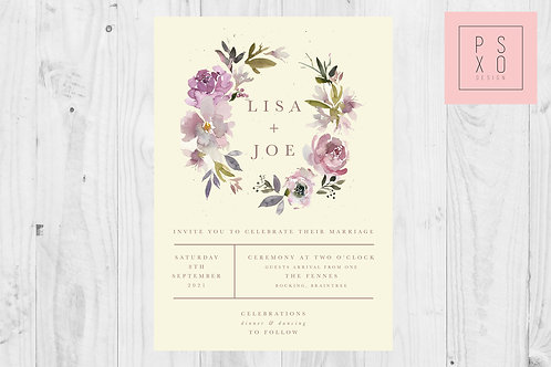 Victoria //Light Mauve Wreath