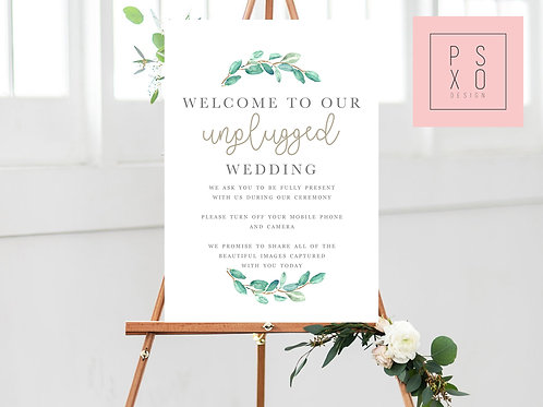 Marie - Unplugged Wedding Poster/Canvas