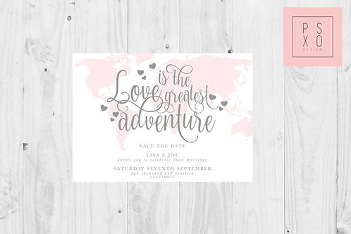 Love Is An Adventure // Destination Wedding // ANY COLOUR