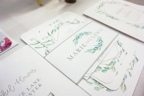 Marie - Full Wedding Invite Set