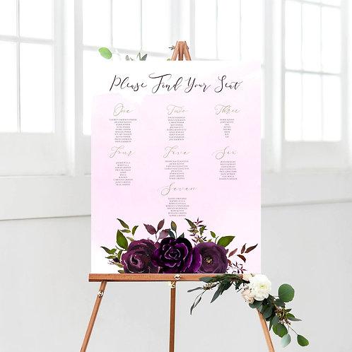 Lauren / Blush Plum Purple Plan