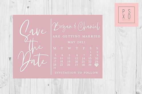 Calendar Design // ANY COLOUR
