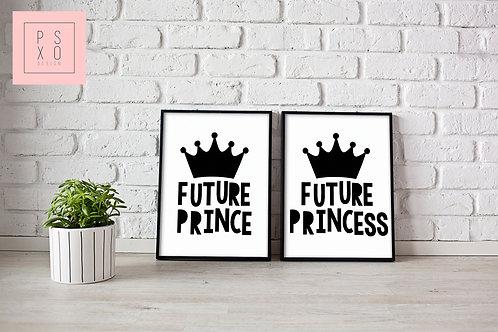 Future Prince / Future Princess Print