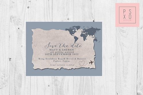 Destination Wedding // Dusty Blue