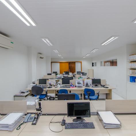 Área administrativa BNB Clube