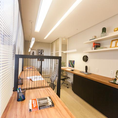 Sala técnica do escritório de advocacia SPA
