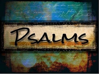 """The Book of Psalms and How Life Happens"" (Hint: it's not all green pastures and still"