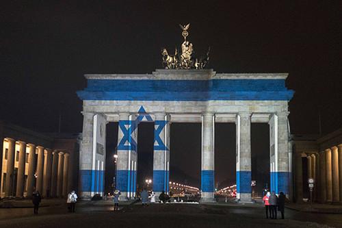 Aufmacher zur Illumination des Brandenburger Tors