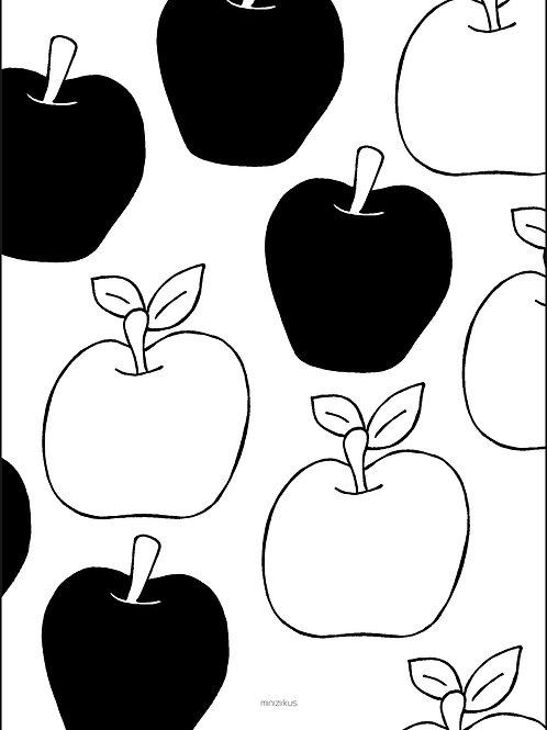 Apfel fürs Auge