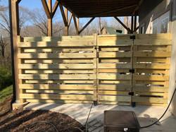 Porch Privacy Fence