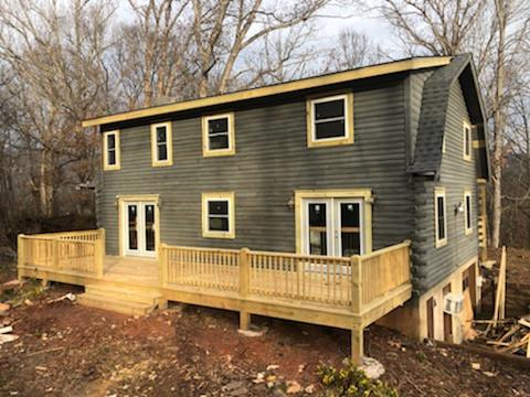 Finished Back Porch Rebuild
