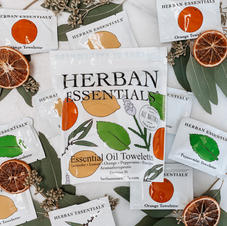 HERBAN ESSENTIAL TOWELETTES