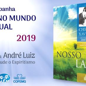 Microcampanha aborda as obras de André Luiz em 2019